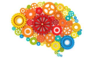 Brain made of gears