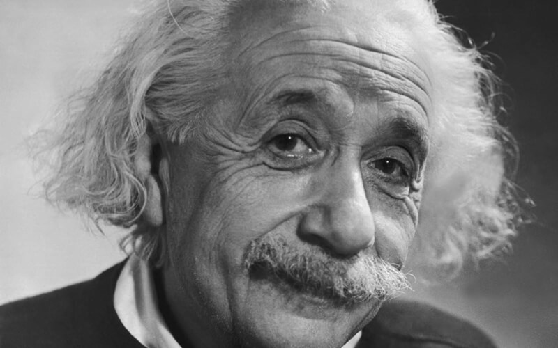 Photo of Albert Einstein
